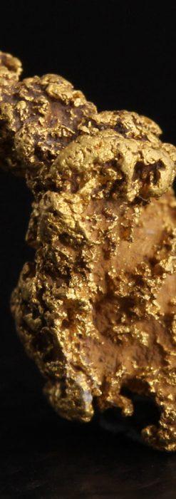 約1.9gの犬のような形の自然金・オーストラリア産-A0264-2