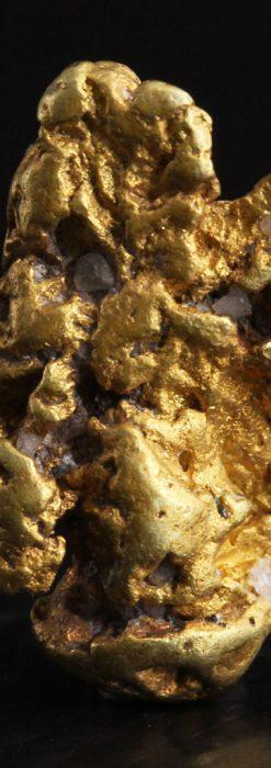 約2.3gの彫像のような形の自然金・オーストラリア産-A0265-1