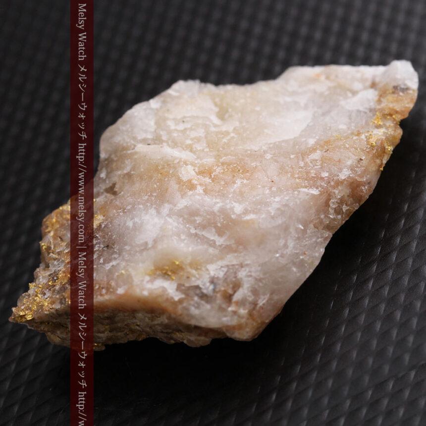8gの石英付きの美しい自然金・オーストラリア産-A0267-10