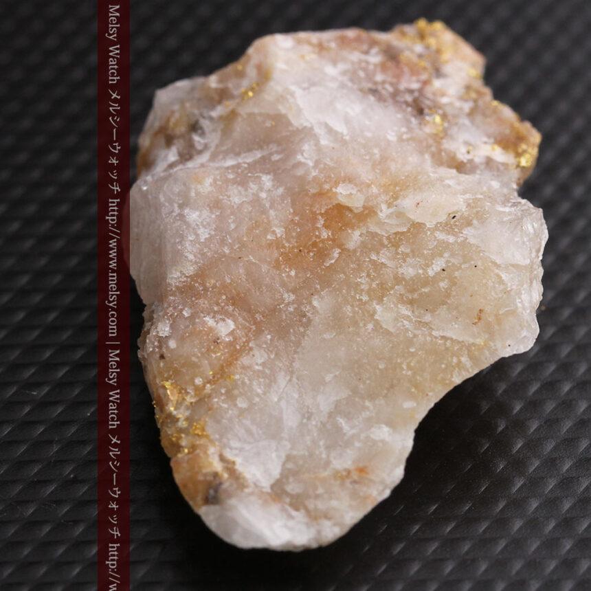 8gの石英付きの美しい自然金・オーストラリア産-A0267-11
