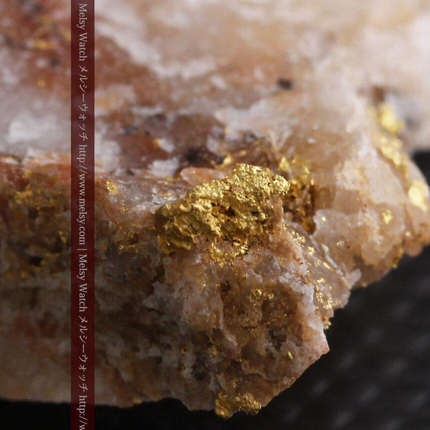 8gの石英付きの美しい自然金・オーストラリア産-A0267-14