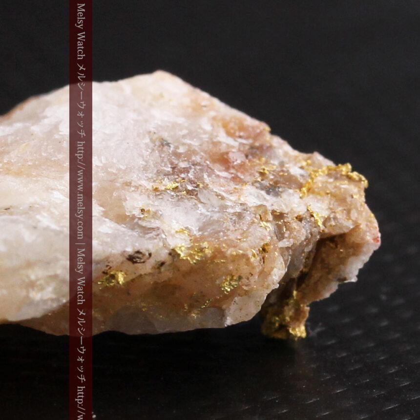 8gの石英付きの美しい自然金・オーストラリア産-A0267-16