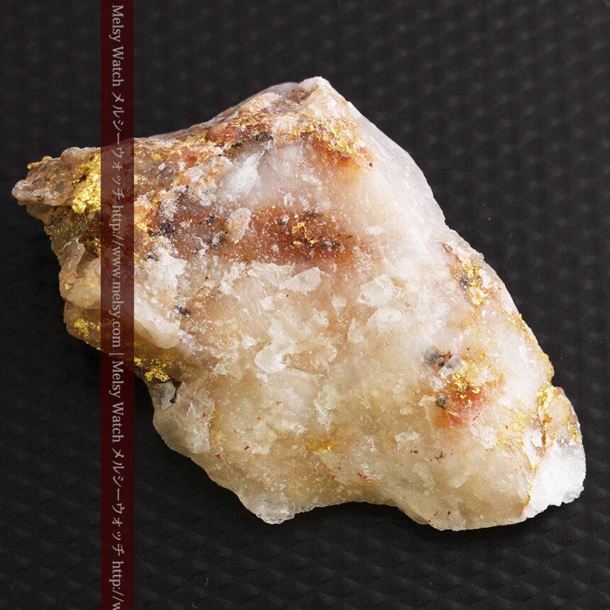 8gの石英付きの美しい自然金・オーストラリア産-A0267-18