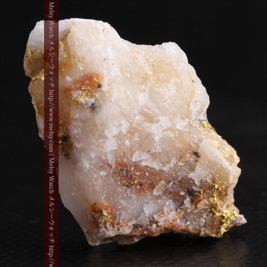 8gの石英付きの美しい自然金・オーストラリア産-A0267-4