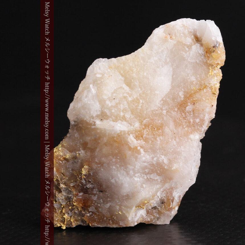 8gの石英付きの美しい自然金・オーストラリア産-A0267-5