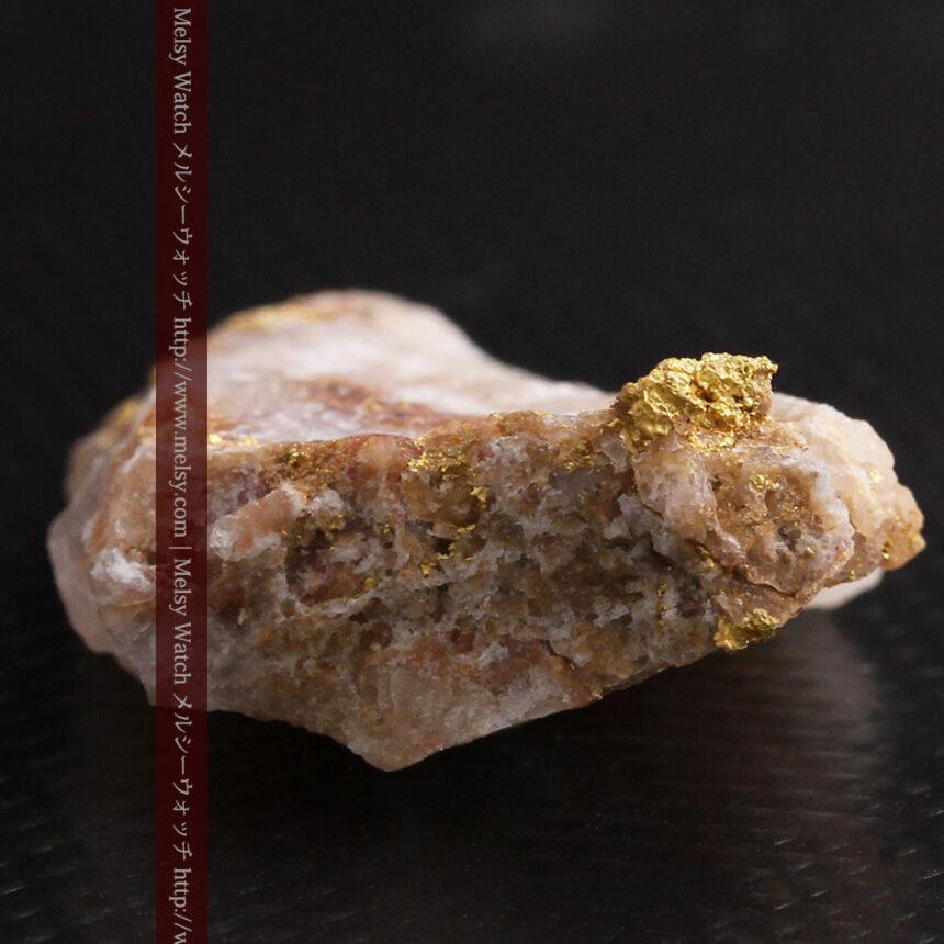 8gの石英付きの美しい自然金・オーストラリア産-A0267-8
