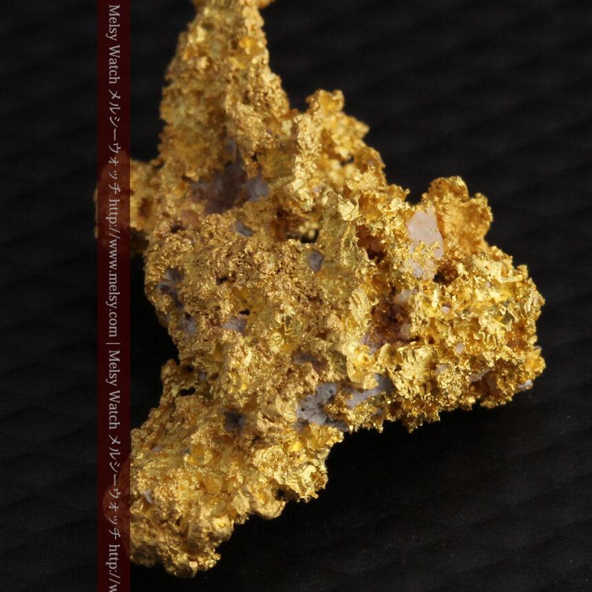 3.4gの非常に細やかで繊細な自然金-A0268-10