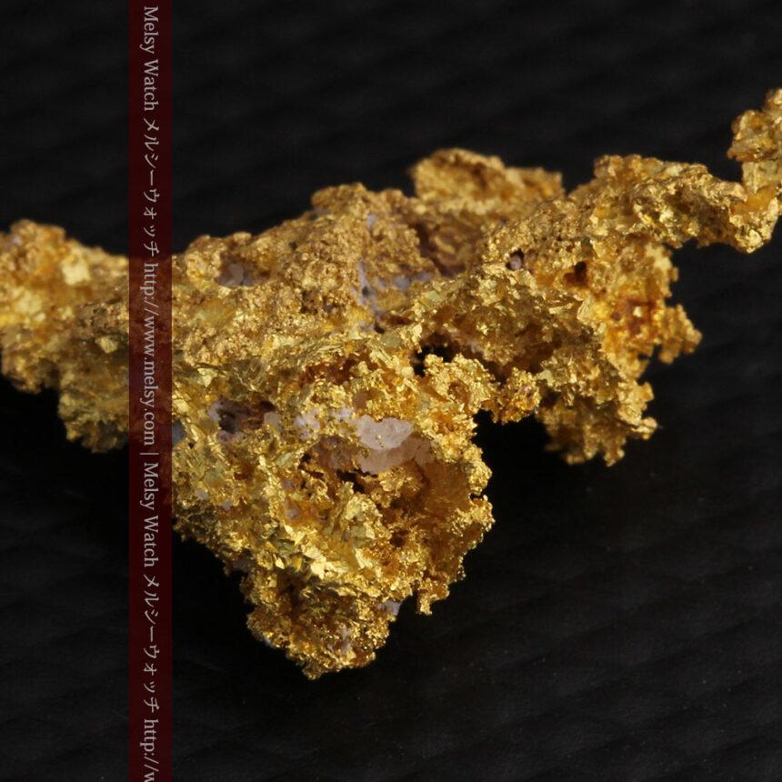 3.4gの非常に細やかで繊細な自然金-A0268-11