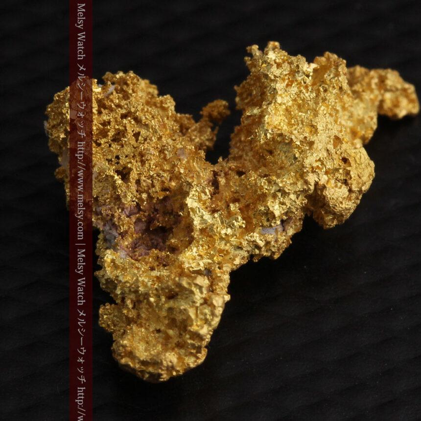 3.4gの非常に細やかで繊細な自然金-A0268-12