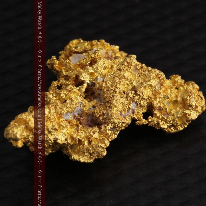 3.4gの非常に細やかで繊細な自然金-A0268-14