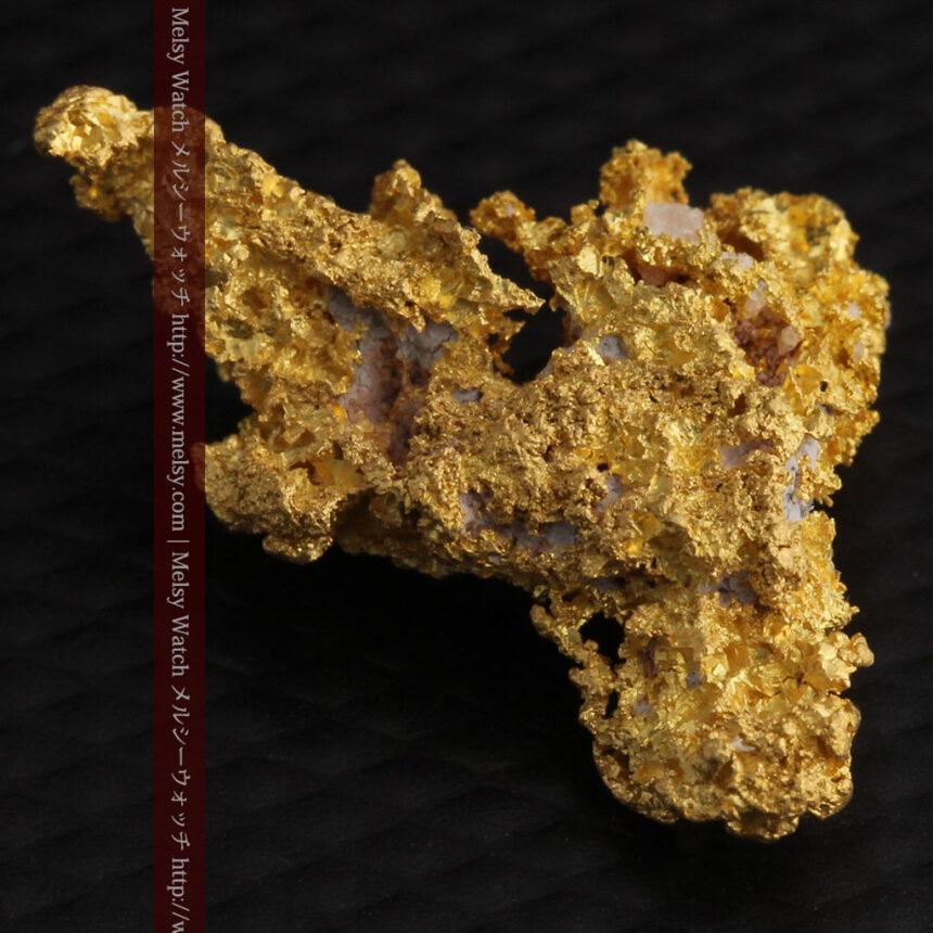 3.4gの非常に細やかで繊細な自然金-A0268-15