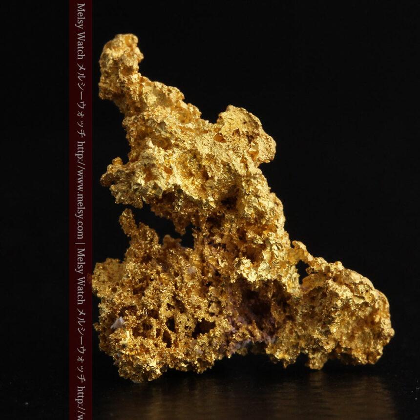 3.4gの非常に細やかで繊細な自然金-A0268-3