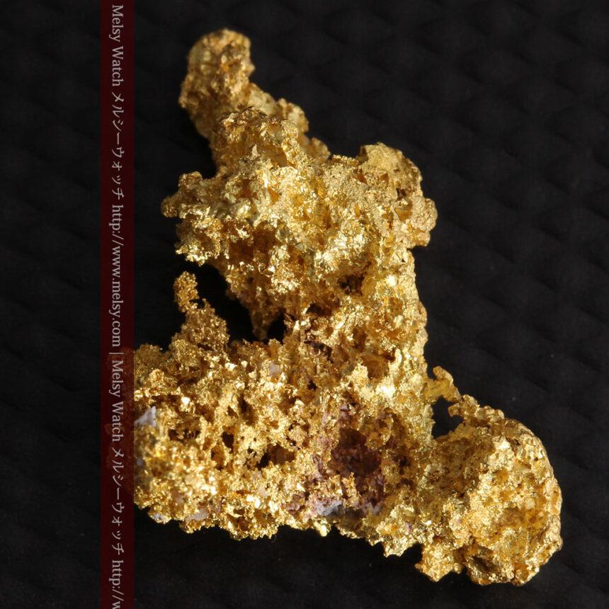 3.4gの非常に細やかで繊細な自然金-A0268-6