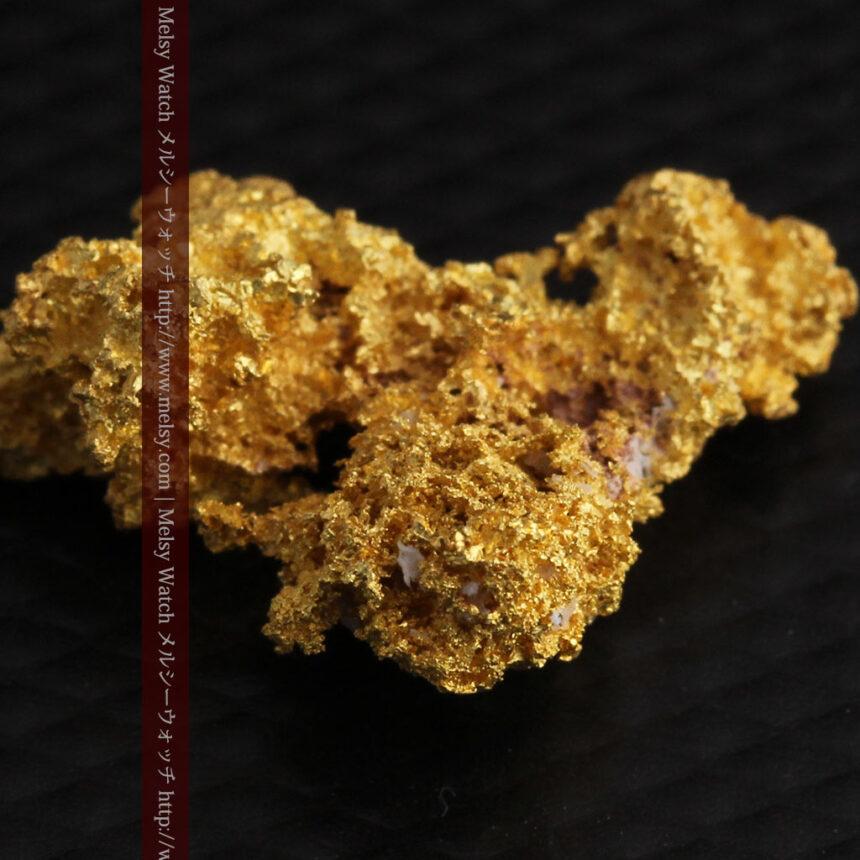 3.4gの非常に細やかで繊細な自然金-A0268-8