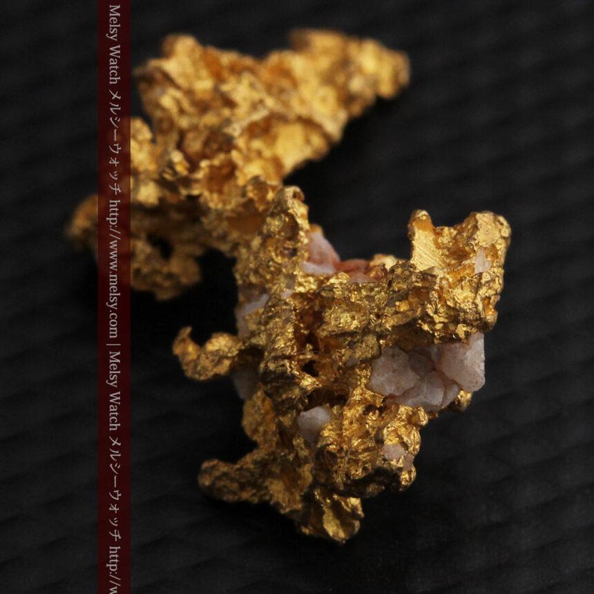 3.95gの恐竜・犬のような形の自然金-A0269-10