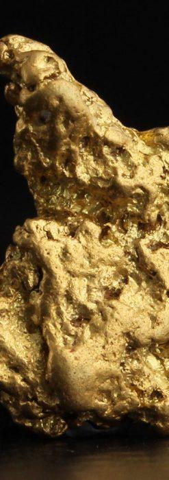 2.26gのねずみ・兎のような形の自然金-A0270-1