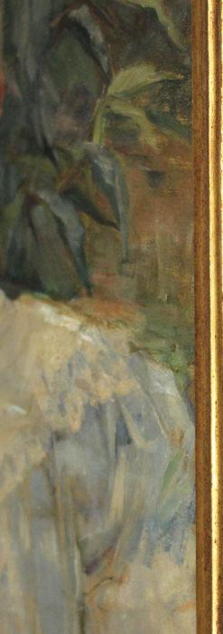 大森安仁子 Annie Barrows Shepleyの描いた姪 1898年作 -大河ドラマいだてん大森兵蔵の妻-A0280-10