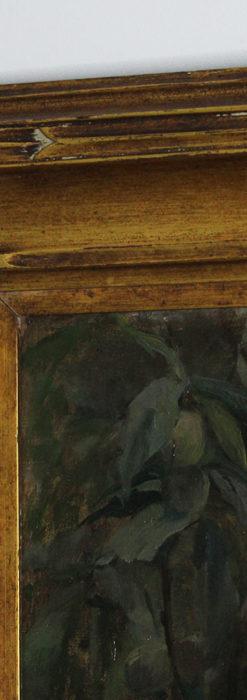 大森安仁子 Annie Barrows Shepleyの描いた姪 1898年作 -大河ドラマいだてん大森兵蔵の妻-A0280-12