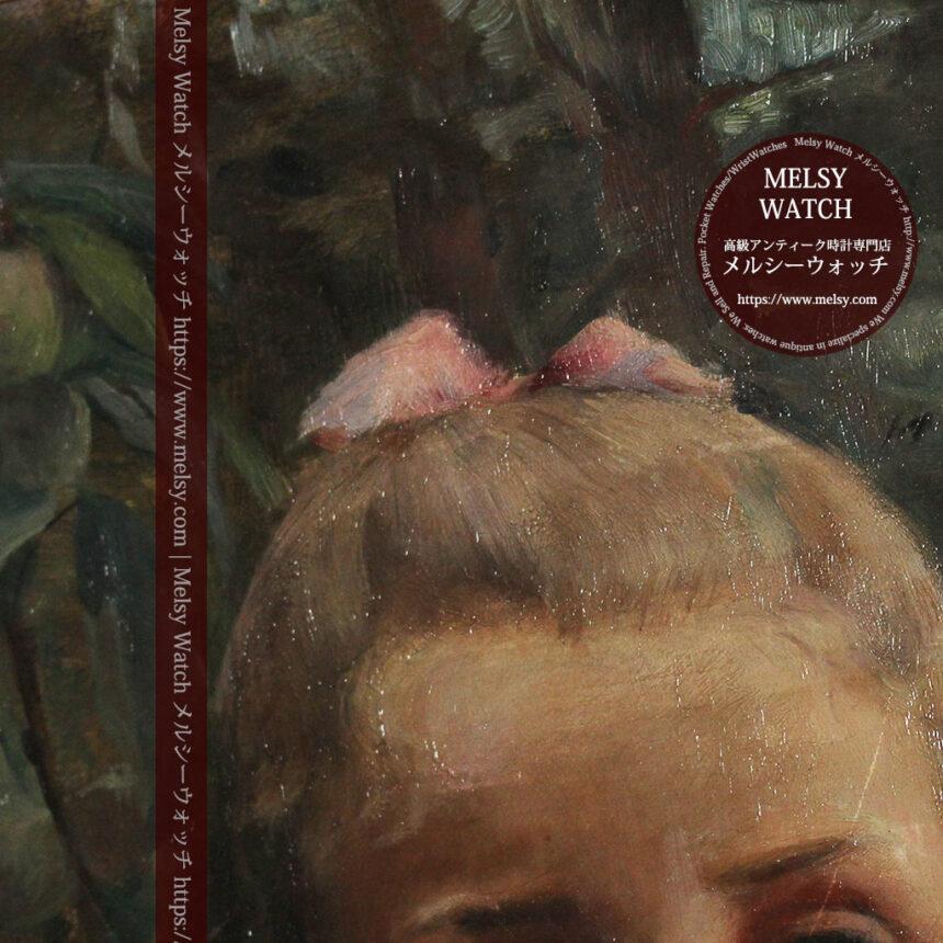 大森安仁子 Annie Barrows Shepleyの描いた姪 1898年作 -大河ドラマいだてん大森兵蔵の妻-A0280-16