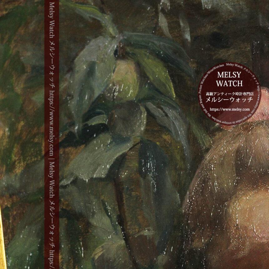 大森安仁子 Annie Barrows Shepleyの描いた姪 1898年作 -大河ドラマいだてん大森兵蔵の妻-A0280-19