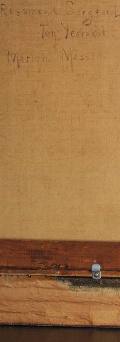 大森安仁子 Annie Barrows Shepleyの描いた姪 1898年作 -大河ドラマいだてん大森兵蔵の妻-A0280-21