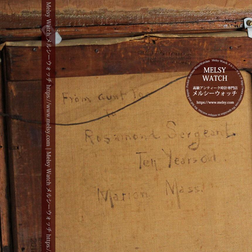 大森安仁子 Annie Barrows Shepleyの描いた姪 1898年作 -大河ドラマいだてん大森兵蔵の妻-A0280-22