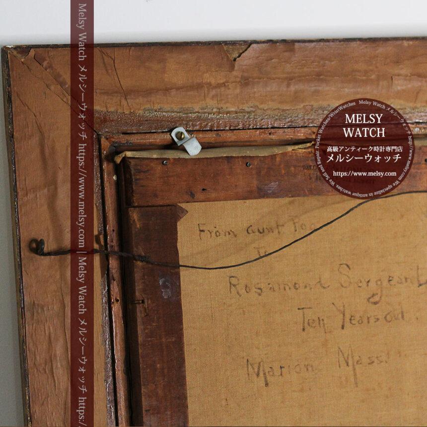 大森安仁子 Annie Barrows Shepleyの描いた姪 1898年作 -大河ドラマいだてん大森兵蔵の妻-A0280-23