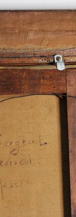 大森安仁子 Annie Barrows Shepleyの描いた姪 1898年作 -大河ドラマいだてん大森兵蔵の妻-A0280-25