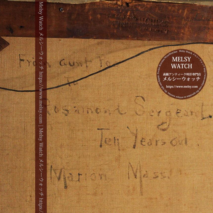 大森安仁子 Annie Barrows Shepleyの描いた姪 1898年作 -大河ドラマいだてん大森兵蔵の妻-A0280-27