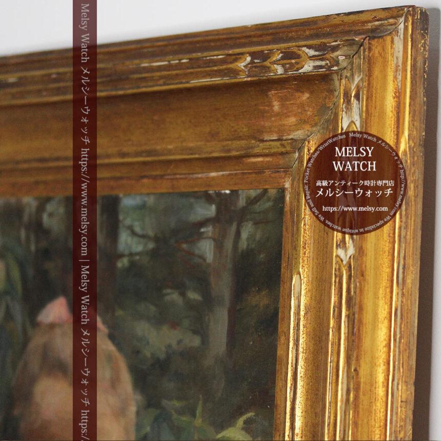 大森安仁子 Annie Barrows Shepleyの描いた姪 1898年作 -大河ドラマいだてん大森兵蔵の妻-A0280-9