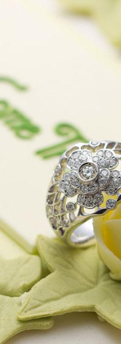 ダイヤモンドとプラチナリング -よみがえる伝承の職人技と造形美-A0281-1