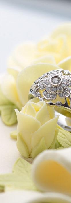 ダイヤモンドとプラチナリング -よみがえる伝承の職人技と造形美-A0281-3