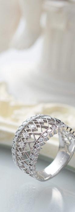 ダイヤモンドとプラチナリング -よみがえる伝承の職人技と造形美-A0282-1