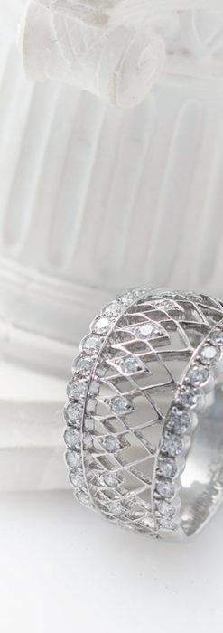 ダイヤモンドとプラチナリング -よみがえる伝承の職人技と造形美-A0282-2
