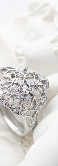 ダイヤモンドとプラチナリング -よみがえる伝承の職人技と造形美-A0283-2