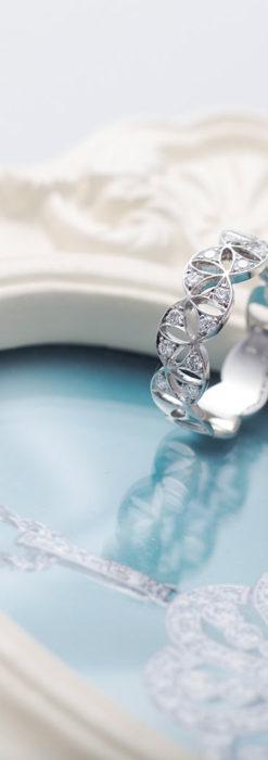 ダイヤモンドとプラチナリング -よみがえる伝承の職人技と造形美-A0286-1