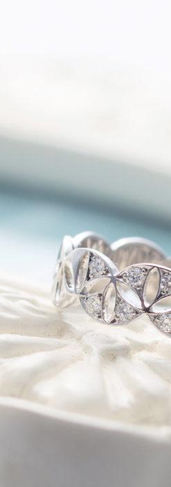 ダイヤモンドとプラチナリング -よみがえる伝承の職人技と造形美-A0286-2