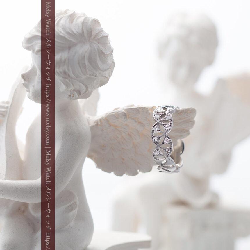 ダイヤモンドとプラチナリング -よみがえる伝承の職人技と造形美-A0286-3