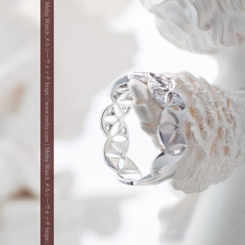 ダイヤモンドとプラチナリング -よみがえる伝承の職人技と造形美-A0286-5