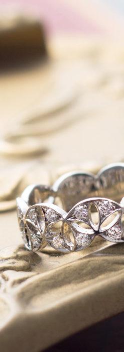 ダイヤモンドとプラチナリング -よみがえる伝承の職人技と造形美-A0286-6