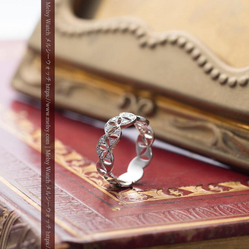 ダイヤモンドとプラチナリング -よみがえる伝承の職人技と造形美-A0286-7