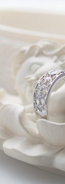 ダイヤモンドとプラチナリング -よみがえる伝承の職人技と造形美-A0287-7