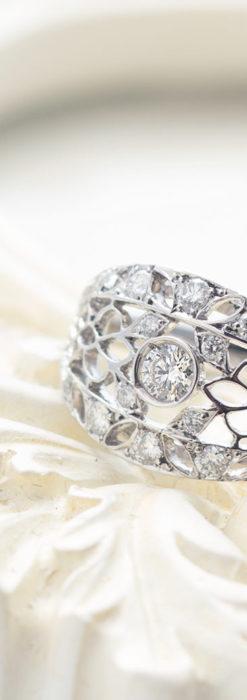 ダイヤモンドとプラチナリング -よみがえる伝承の職人技と造形美-A0289-1