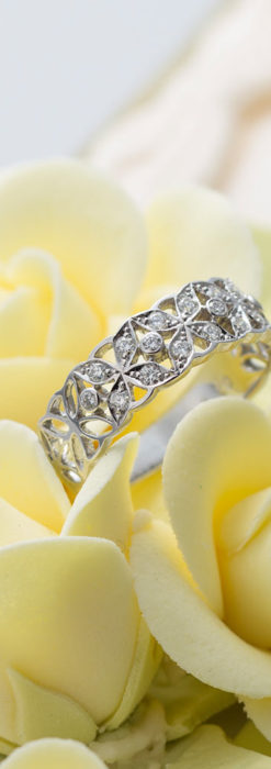 ダイヤモンドとプラチナリング -よみがえる伝承の職人技と造形美-A0290-1