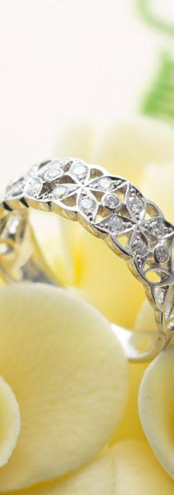 ダイヤモンドとプラチナリング -よみがえる伝承の職人技と造形美-A0290-2