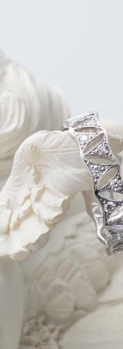 ダイヤモンドとプラチナリング -よみがえる伝承の職人技と造形美-A0291-1