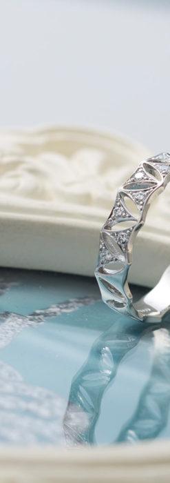 ダイヤモンドとプラチナリング -よみがえる伝承の職人技と造形美-A0291-2