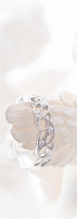 ダイヤモンドとプラチナリング -よみがえる伝承の職人技と造形美-A0292-1