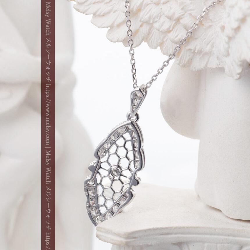 ダイヤモンドとプラチナのペンダント -よみがえる伝承の職人技と造形美-A0298-3