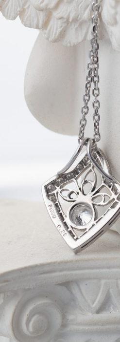 ダイヤモンドとプラチナのペンダント -よみがえる伝承の職人技と造形美-A0299-4